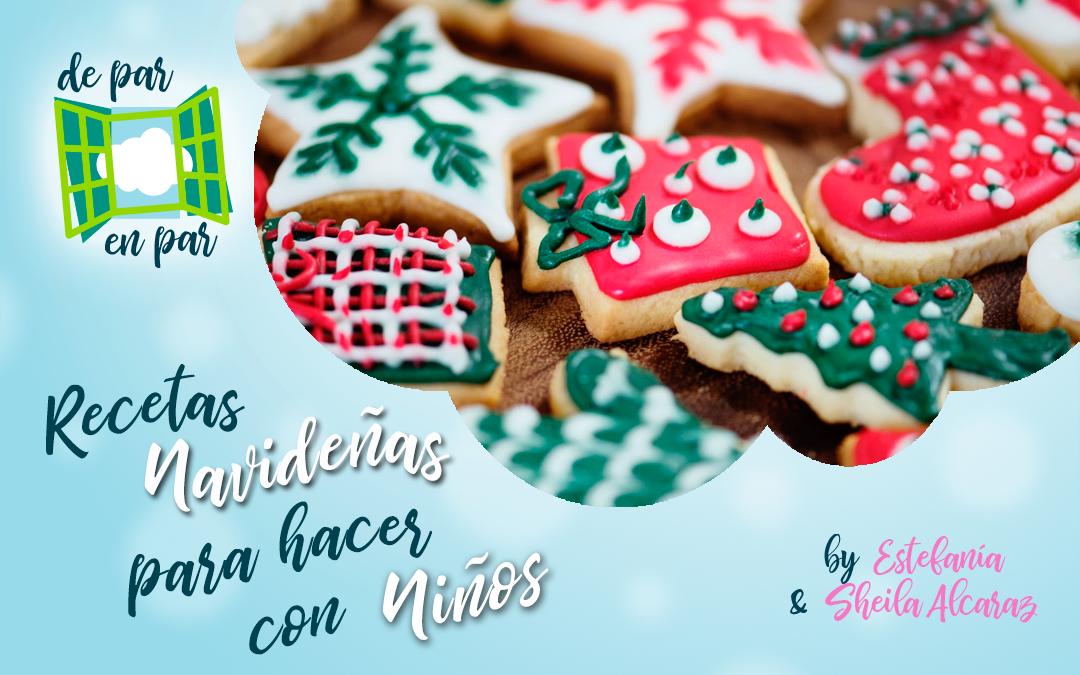 Recetas de galletas navideñas para hacer con niños
